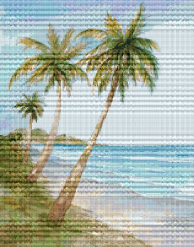 Swaying Palms Modern Cross Stitch Kit by GeckoRouge, http://www.amazon.co.uk/dp/B008UZRNJI/ref=cm_sw_r_pi_dp_IiWxrb03X9PQK
