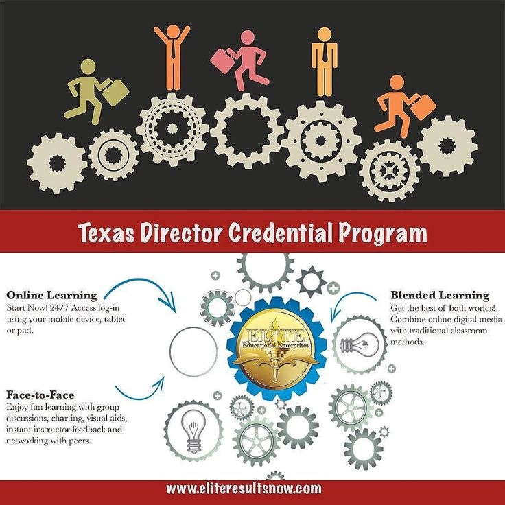 Director Credential accepted by Texas Department of Family Protective Services #directorcredential