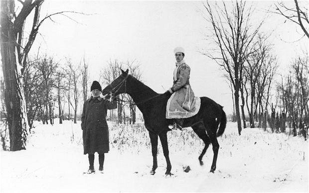 Jan Morris on Artemis Cooper's biography of Patrick Leigh Fermor (image: Patrick Leigh Fermor on horseback at Baleni, Moldavia)