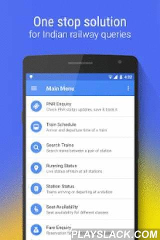 Rail Jankari : Indian Railways  Android App - playslack.com ,  Rail Jankari is an Indian Railways application. It acts as a one stop solution for your railway queries. Grab this app and get information on the go!★ App Offerings ▪ PNR Enquiry & Tracking - Check PNR status as well as save it for future reference. Auto PNR tracking notifies you when current status changes. Rail Jankari also tracks messages with PNR and adds those PNR's automatically to status tracking list.  ▪ Train Schedule -