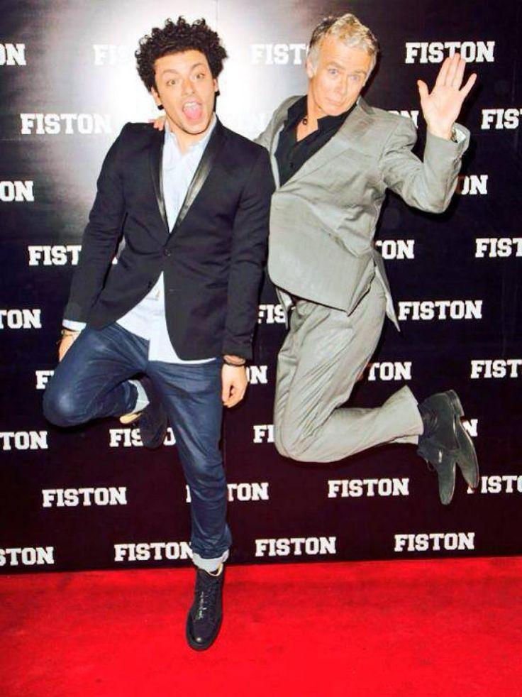 """Kev Adams et Franck Dubosc - ont sortis un films comique ensemble """"Fiston"""" http://www.frenchtoday.com"""
