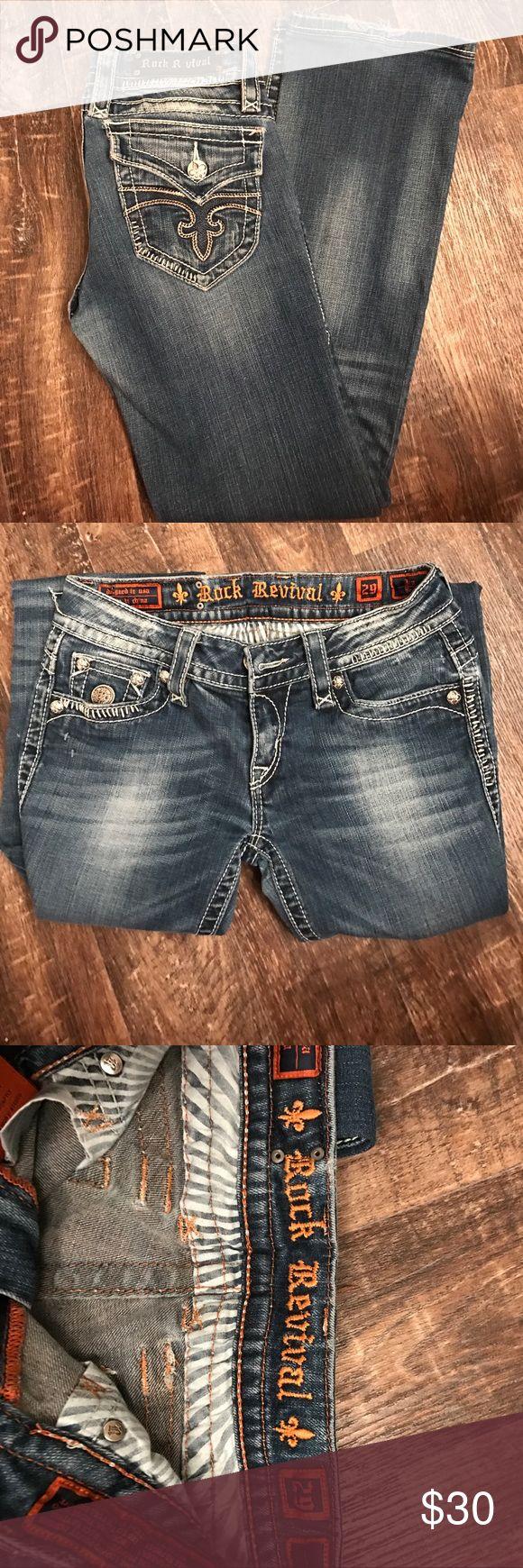 Rock revival jeans Rock Revival jeans size 29 Rock Revival Jeans Boot Cut