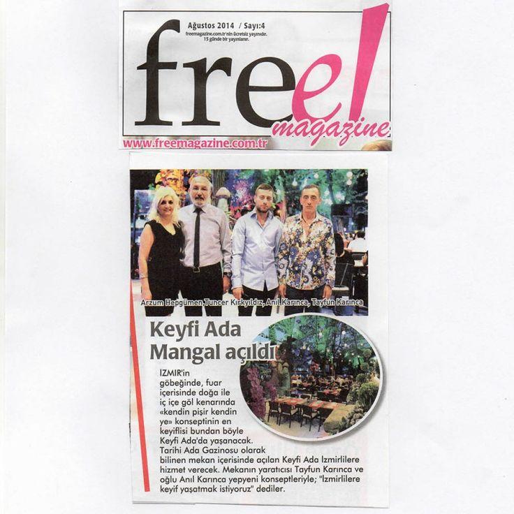 Free Magazin - Ağustos - Fuar Ada Gazinosu