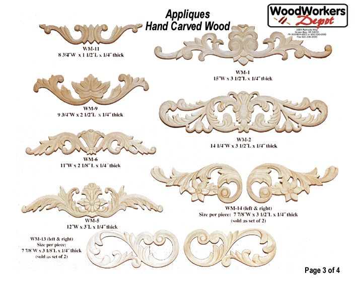 Wood Appliques For Furniture Just In Beautiful Hand Carved Wood Appliques Integrate Into