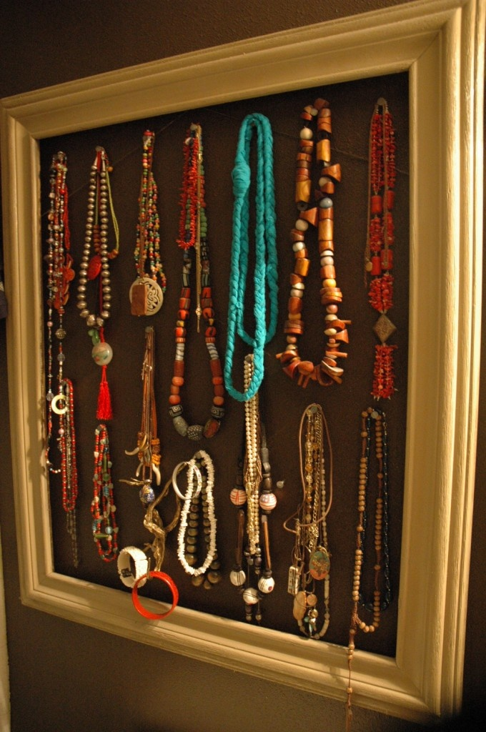 jewelry display as art