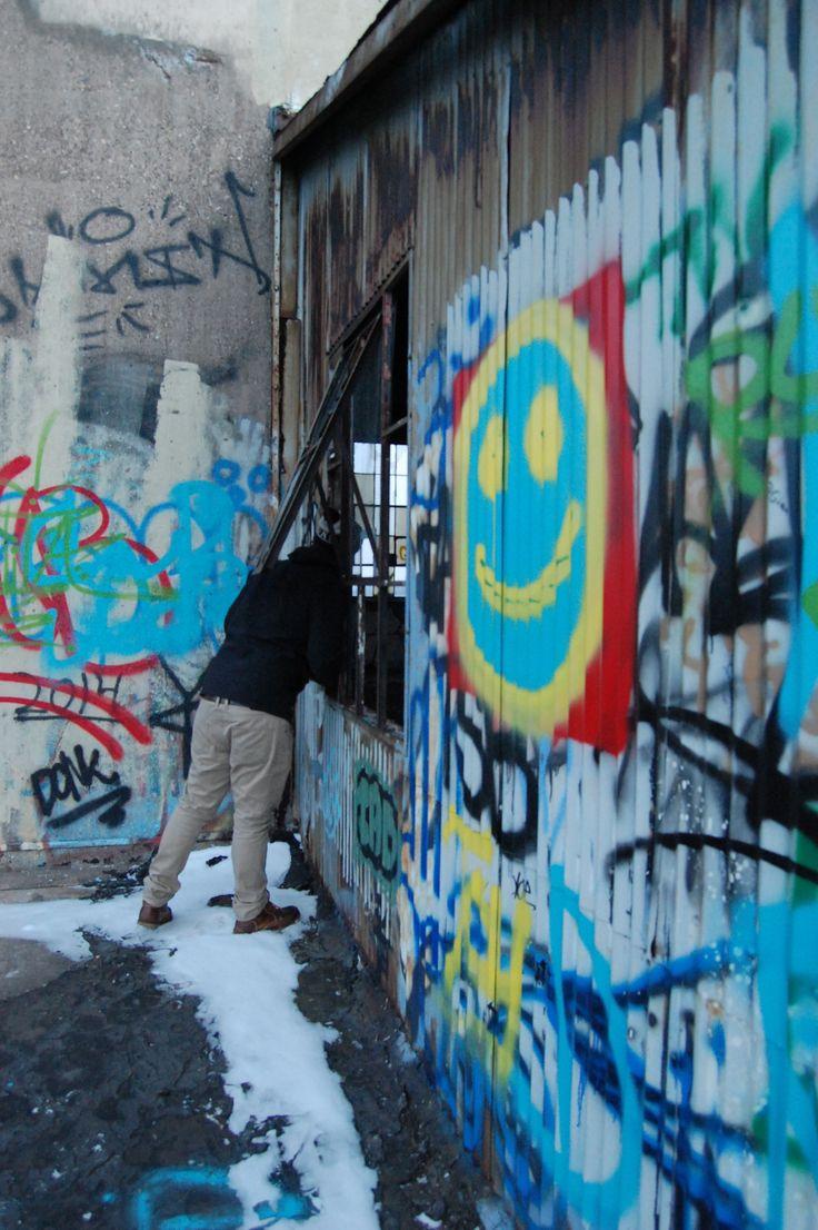 #urbanexploring #minneapolis #sunset #graffiti