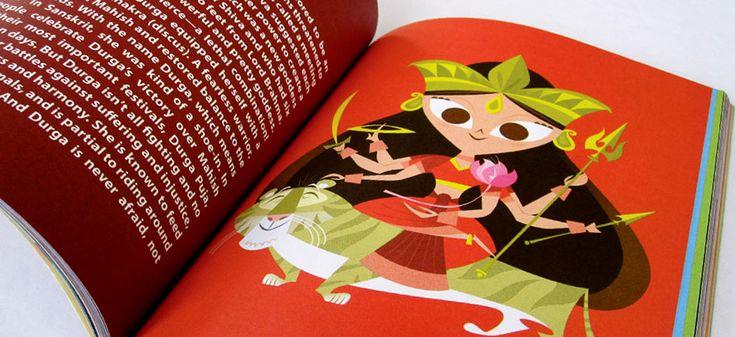 'The Little Book of Hindu Deities': Pixar Animator Rethinks Mythology - The Atlantic