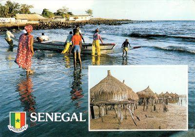 SENEGAL - Pirogue men