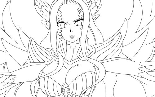 48 best images about fairy tail coloring pages on ...