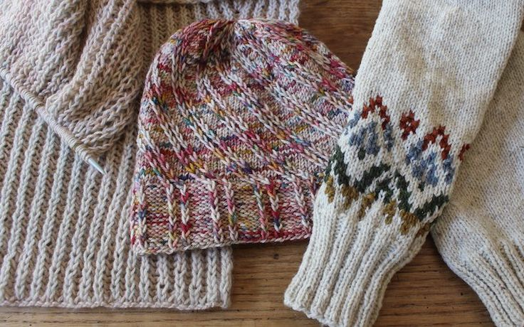 Ann Shayne on how to knit more. :)