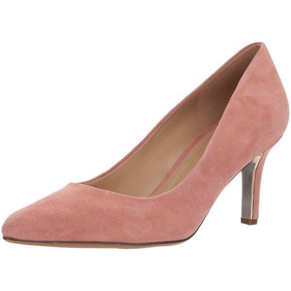 Naturalizer Women's Natalie Dress Pump (535 MXN) ❤ liked on Polyvore featuring shoes, pumps, wide fit pumps, wide fit shoes, wide shoes, wide pumps and dress pumps