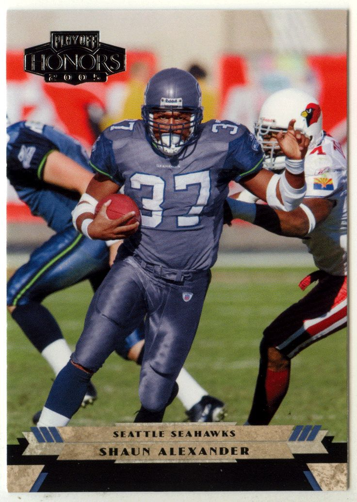 Shaun Alexander # 89 - 2005 Playoff Honors Football