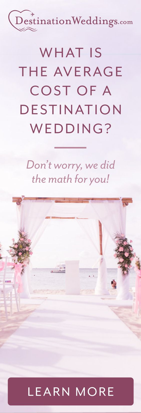 in our latest trend report we broke down the cost of the average destination wedding