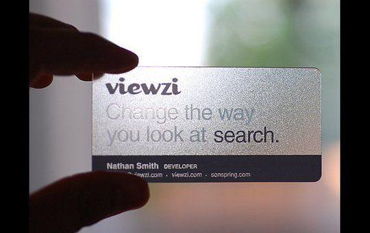 Business Card Design: SuperWindy - Viewzi