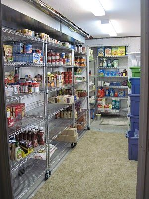 More Than the Mulberries: Food Storage Room