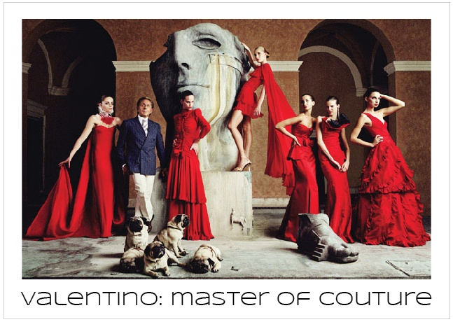 Valentino: Master of Couture exhibition at Somerset house displays over 130 of the Italian's designs, from couture to catwalk, red carpet to never-seen private commissions.