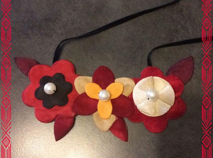 Handmade Velvet Necklace