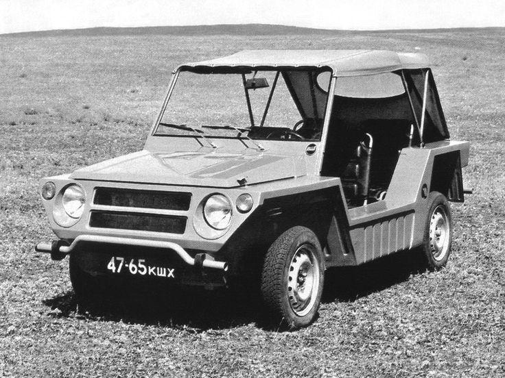 ВАЗ Э11011 Автороллер Опытный '1974