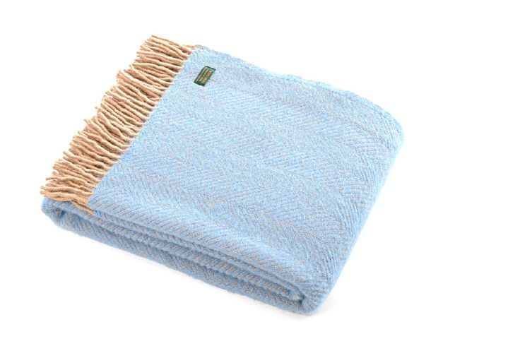 Tweedmill | Herringbone | Sea/Blue beige