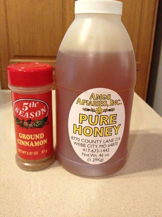 Great information!! Cinnamon and RAW Honey...! Drug companies won't like this one getting around. Facts on RAW Honey and Cinnamon: It is found that a mix of honey and cinnamon CURES most diseases
