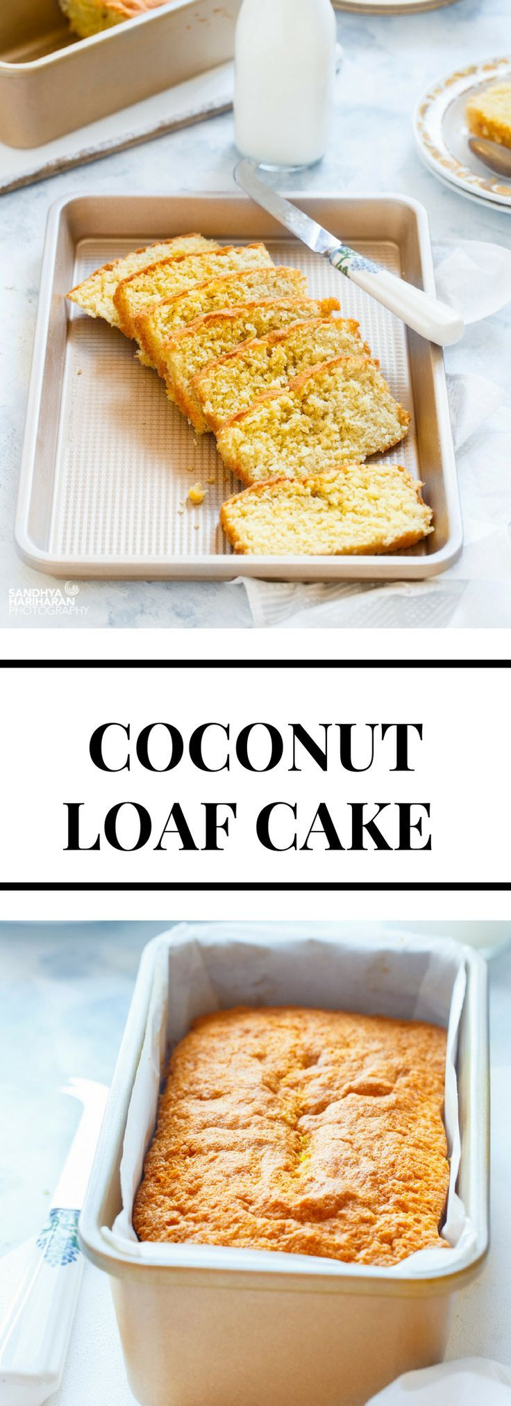 Some breakfast mornings just call for Simple COCONUT LOAF CAKE along with a cuppa.   Its Coconut - ty, light and very mildly flavoured!