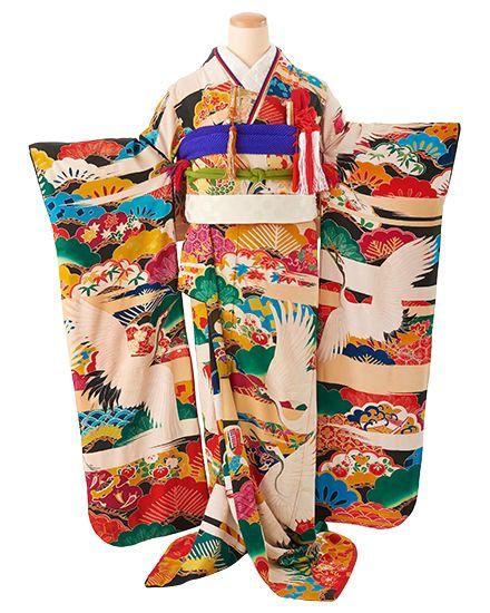婚礼 アンティーク着物レンタル KF-0009 - antique kimono colette