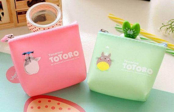 Totoro Squishy caramelle colorate portamonete
