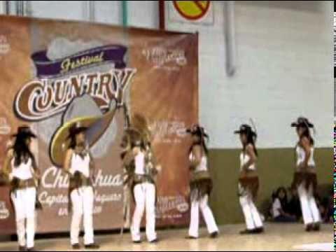 Concurso Baile Country Ganadoras Fast Boots Festival Country Chihuahua 2010 www.mundovaquero.com - YouTube