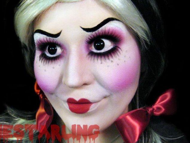 71 best creepy doll makeup images on Pinterest | Creepy doll ...