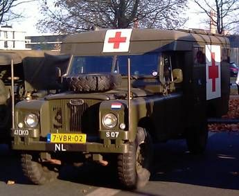 Land Rover Serie II A Ambulance