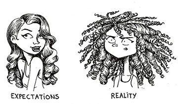 Expectación vs realidad de peinados y productos para el cabello ...