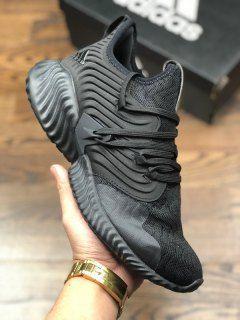 62bd9c2f6 Mens Winter Adidas AlphaBounce Instinct CC M Triple black Running Shoes