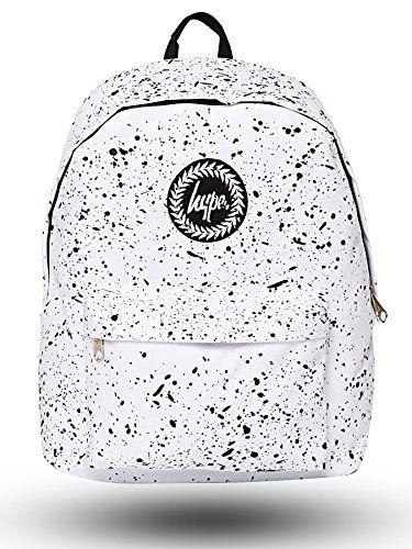 Hype Backpack   Unisex Rucksack Designer School Shoulder Bag   Just Hype Bags (One size, Speckle White) Hype http://www.amazon.co.uk/dp/B010G4KWUW/ref=cm_sw_r_pi_dp_-e6Tvb0Y5NVR9