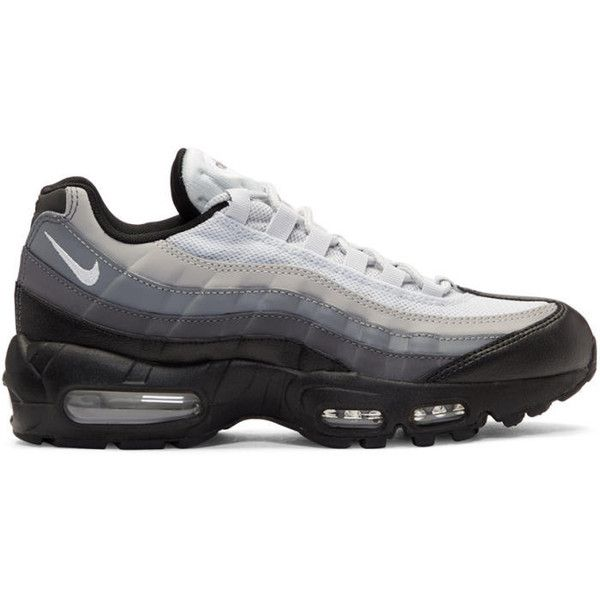Nike Black and Grey Air Max 95 Essential Sneakers ($165