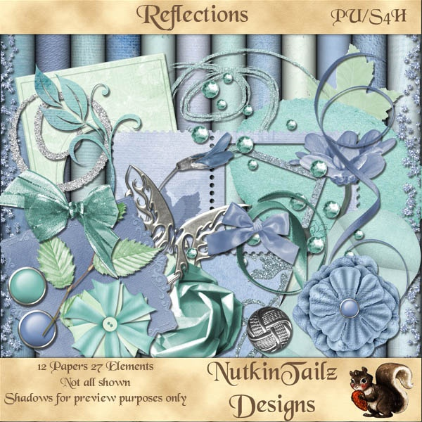 Reflections [NutkinTailz Designs] - AU$3.25 : Nuts4Digi.com Store