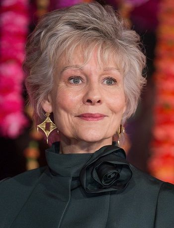 Diana Hardcastle-Classy Celebrity Hairstyles for Women with Gray Hair l www.sophisticatedallure.com