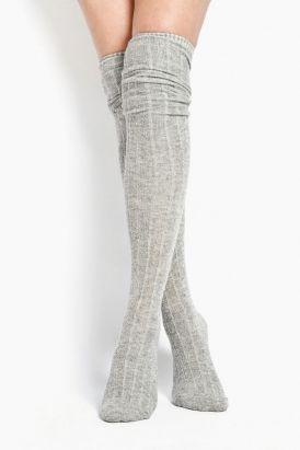 Over the knee socks.