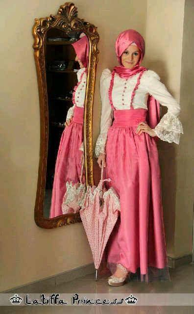 Baju Gamis Pesta Modern Lathifa Princess