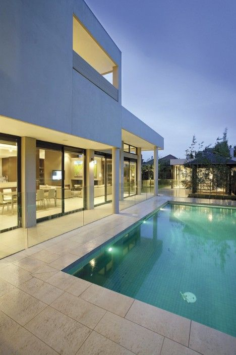 Pool design, Modern living, Family home,  Constructed by Classic Projects