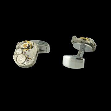 DIVERS ACCESSOIRES - Boutons de manchettes Horloger, cresus accessoires de luxe d'occasion, http://www.cresus.fr/accessoires/accessoire-occasion-divers_accessoires-boutons_de_manchettes_horloger,r46,ta5,p1009.html
