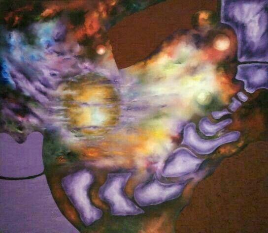 By Jesús Ojeda. The Eva`s dream. (160x140cm). Year 2013    http://youtu.be/yeNQypmgwGU