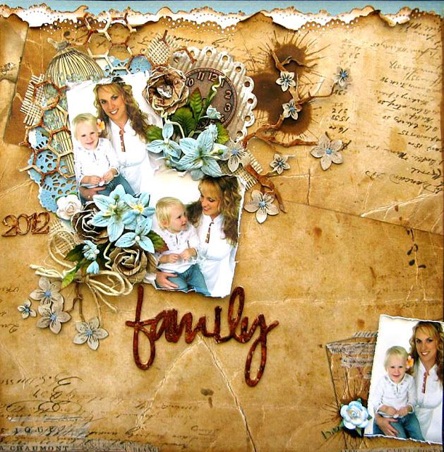 Di's Creative Space: 2 Crafty Blog HopPLUSTwo New Layouts to Share...