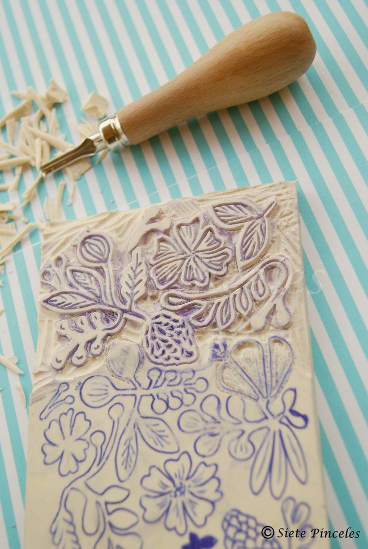 Carvar Sellos | Siete Pinceles