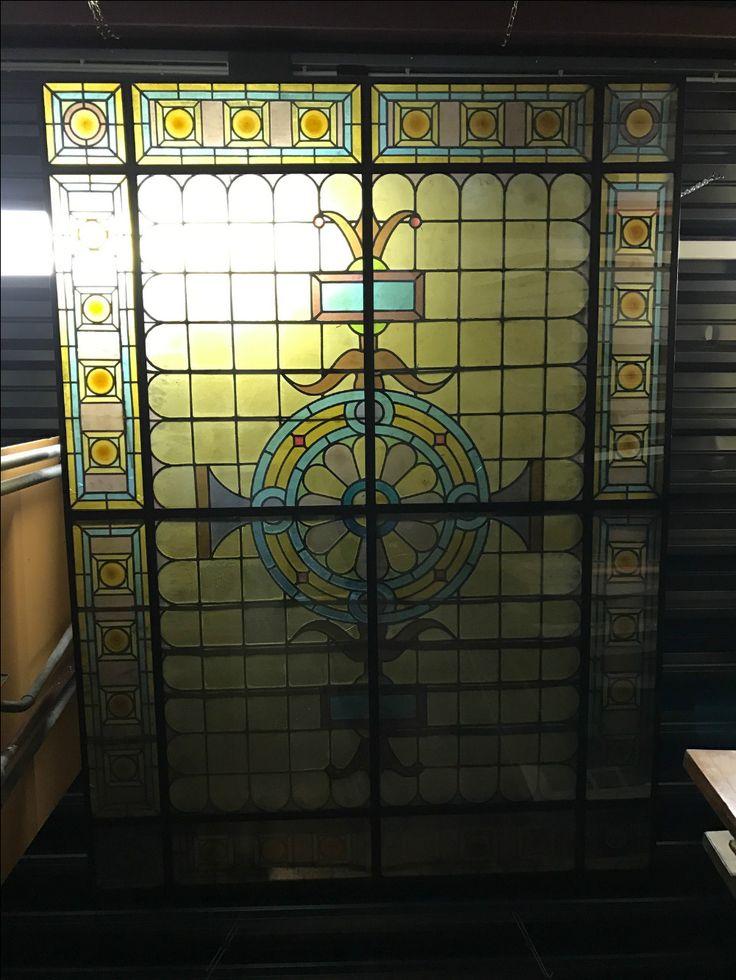 Glas in lood plafond   Stained Glass Ceiling   Plafonddecoratie   Plafondverlichting   Horeca Interieurbouw   Rekwisieten   Sijf & Dax van Zuilen Oudewater