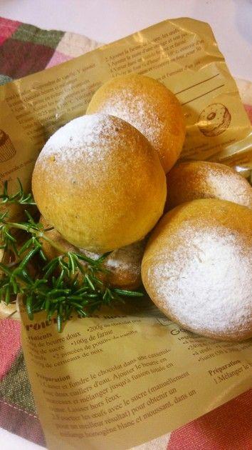 ◆ローズマリーパン◆焼きたても良いですが、一度冷めたパンを軽く焼き直してからの方がおすすめです!!