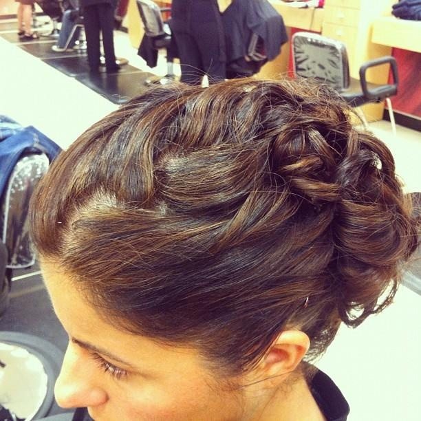 Cute Hairstyles For Prom Updos : 42 best images about pretty up dos on pinterest wedding updo