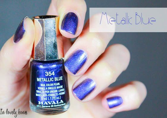 Mavala 354 Metallic Blue