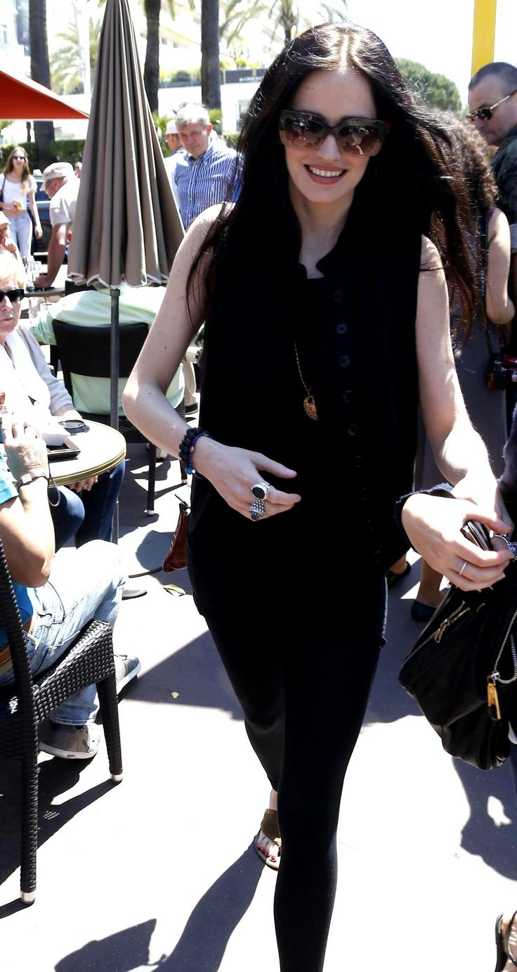 Eva Green | 67th Annual Cannes Film Festival Sighting -May 17, 2014 | street style