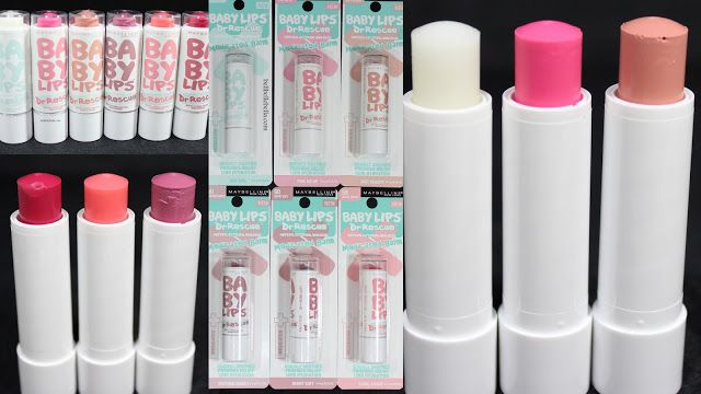 New Baby Lips! Maybelline Baby Lips Dr. Rescue Review, click for swatches and more pictures @BellBelleBella
