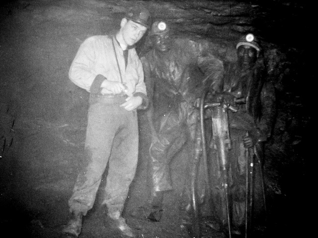 South African Miners - Undated. Probably 1954 by Axel Bührmann, via Flickr